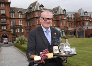 Stephen Meldrum, Manager of the Slieve Donard Resort and Spa pictured at the launch of festival 2017