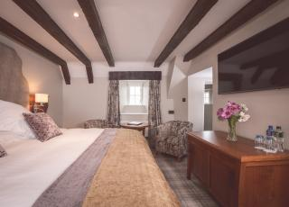 One of our luxurious Tower Rooms at Ballygally Castle