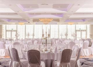 The new £1.5 million Grand Ballroom at Everglades Hotel