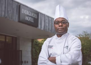 Demond Morris Executive Chef at the Everglades Hotel