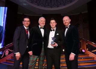 JP McCafferty receives Janus Award for Food & Beverage Manager of the Year