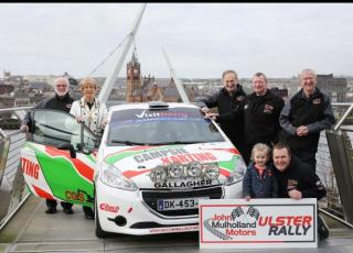 The Ulster Rally returns to Derry-Londonderry this August