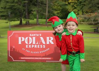 Polar Express Culloden Slieve Donard Northern Ireland