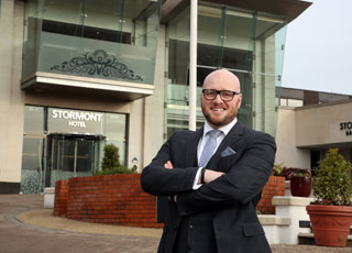 Andy McNeill has been appointed as General Manager of the Stormont Hotel