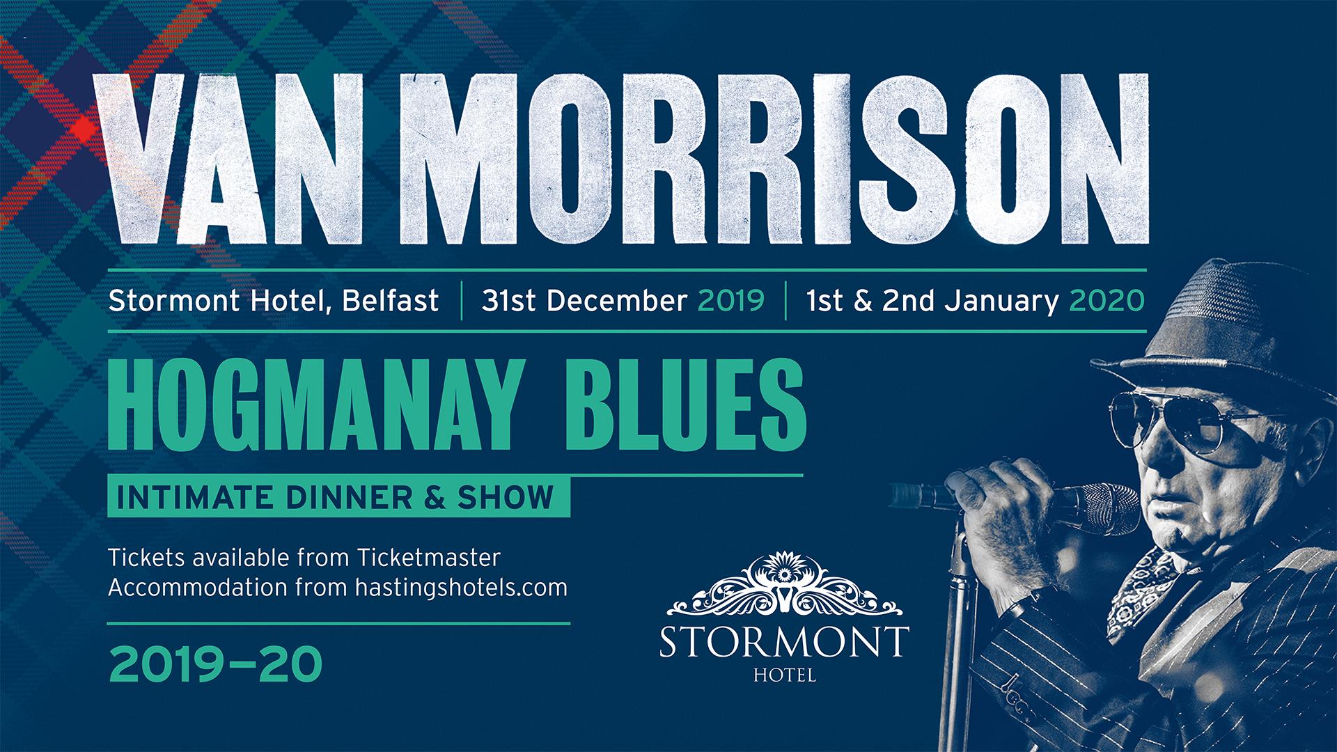Van Morrison Tour 2020.Van Morrison Live At Stormont Hotel Concert Package
