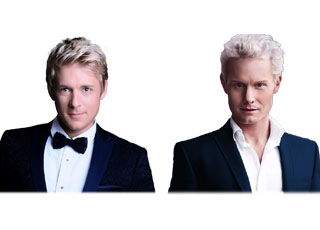 Jonathan Ansell and Rhydian Roberts will bring the Les Musicals Concert Tour to Hastings Hotels