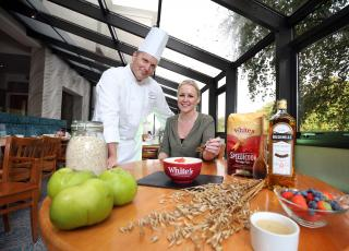 Jay Eisenstadt and Laura McIntosh World Porridge Day