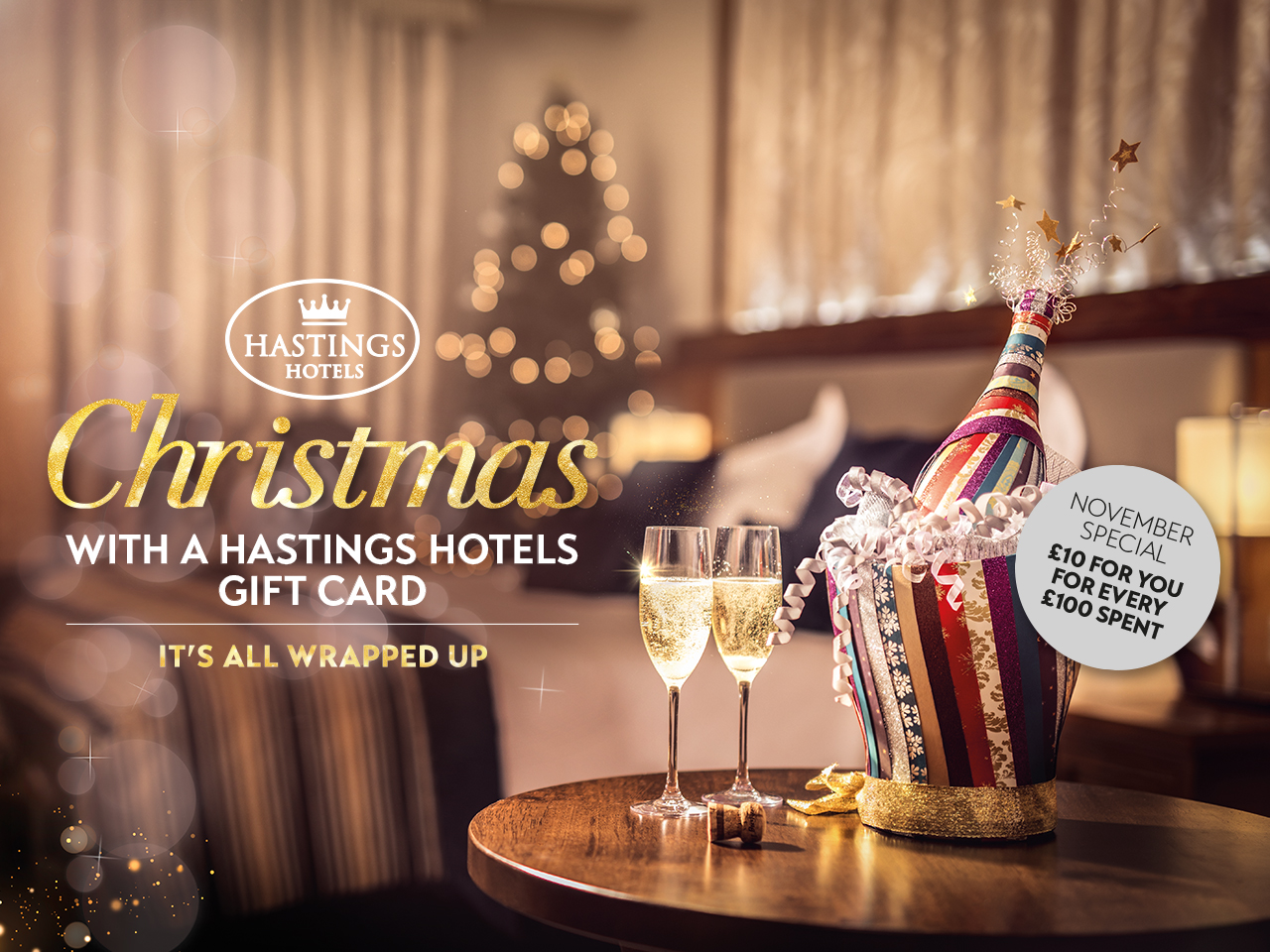 Belfast Hotel Vouchers | Gift Vouchers Northern Ireland | Hastings